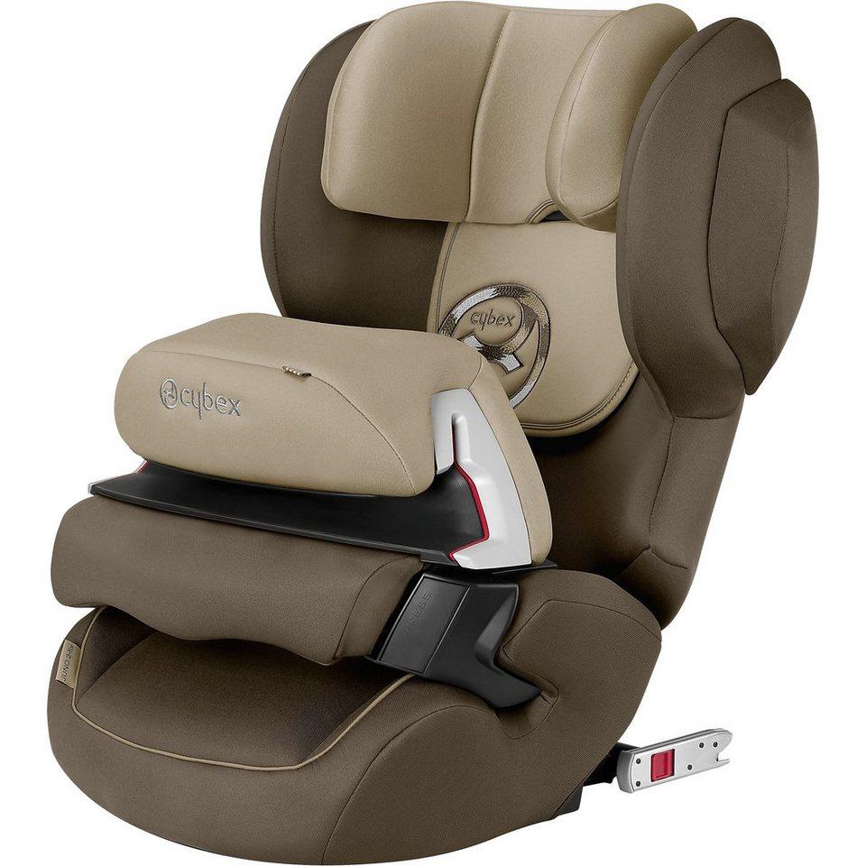 Cybex Auto-Kindersitz Juno 2-Fix, Gold-Line, Olive Khaki-Khaki, 20 in beige