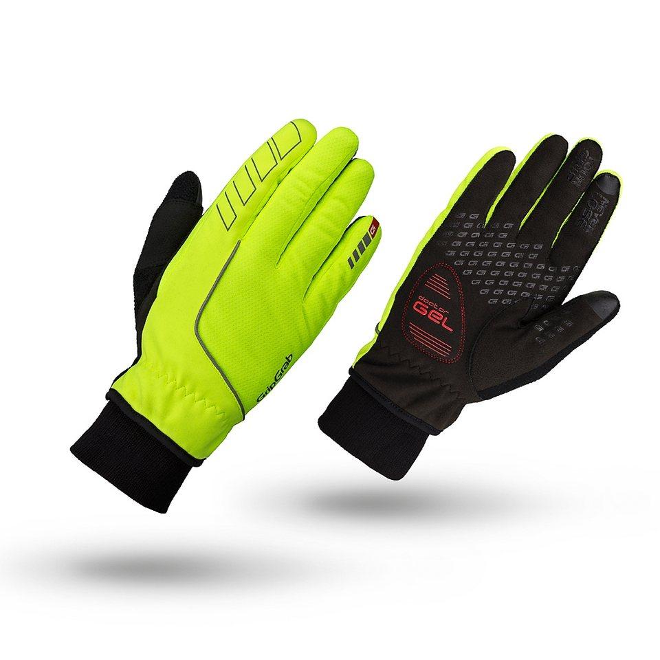 GripGrab Fahrrad Handschuhe »Windster Hi-Vis Handschuhe« in schwarz
