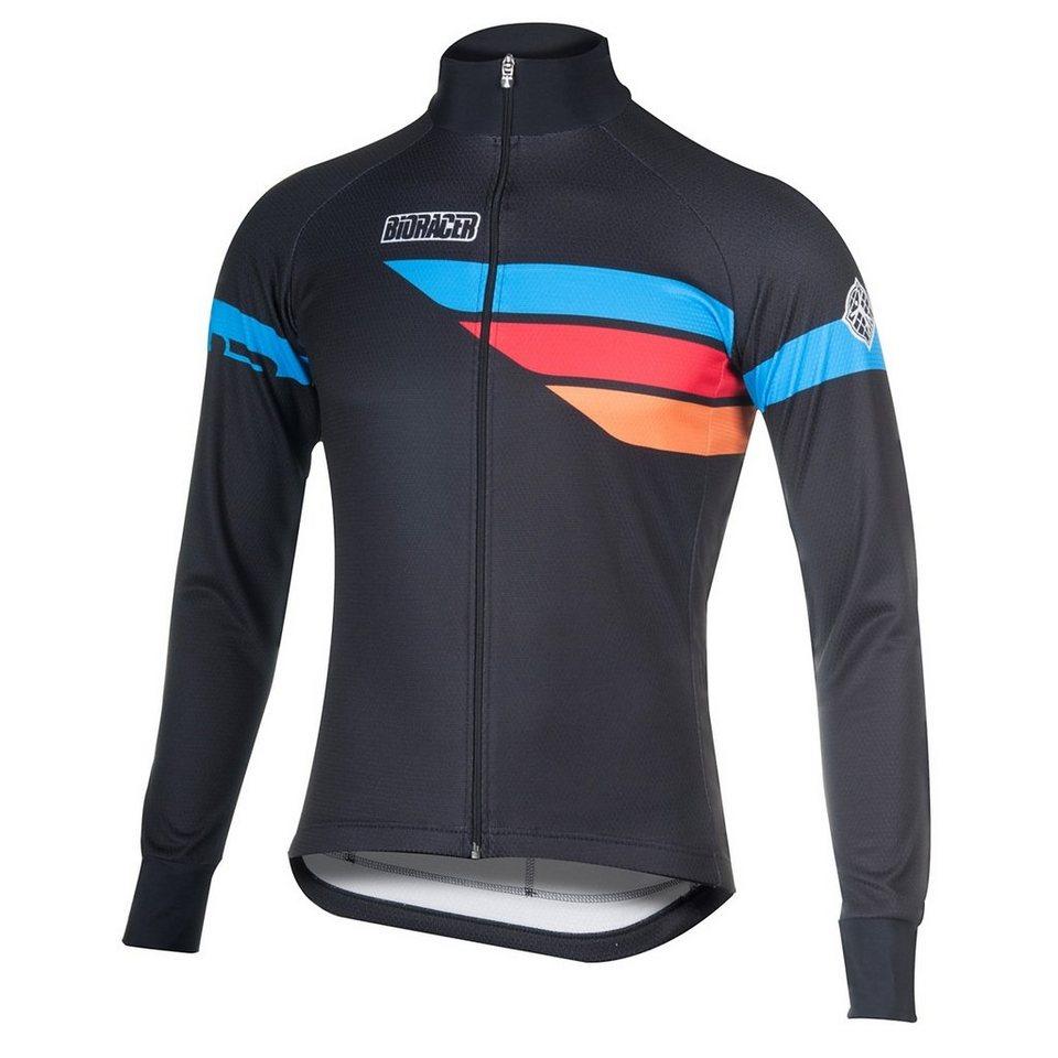Bioracer Radtrikot »Sprinter Long Sleeve Jersey Men« in schwarz