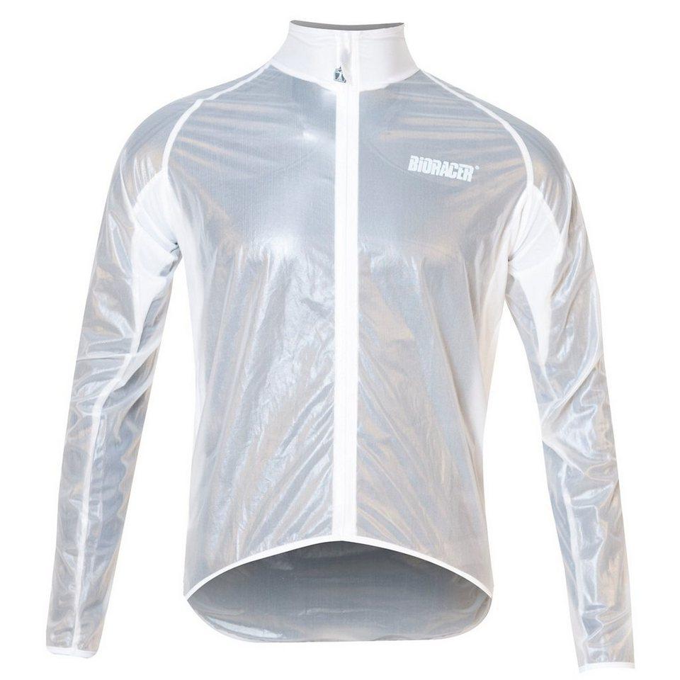Bioracer Radjacke »Virga Rain Jacket Men« in transparent