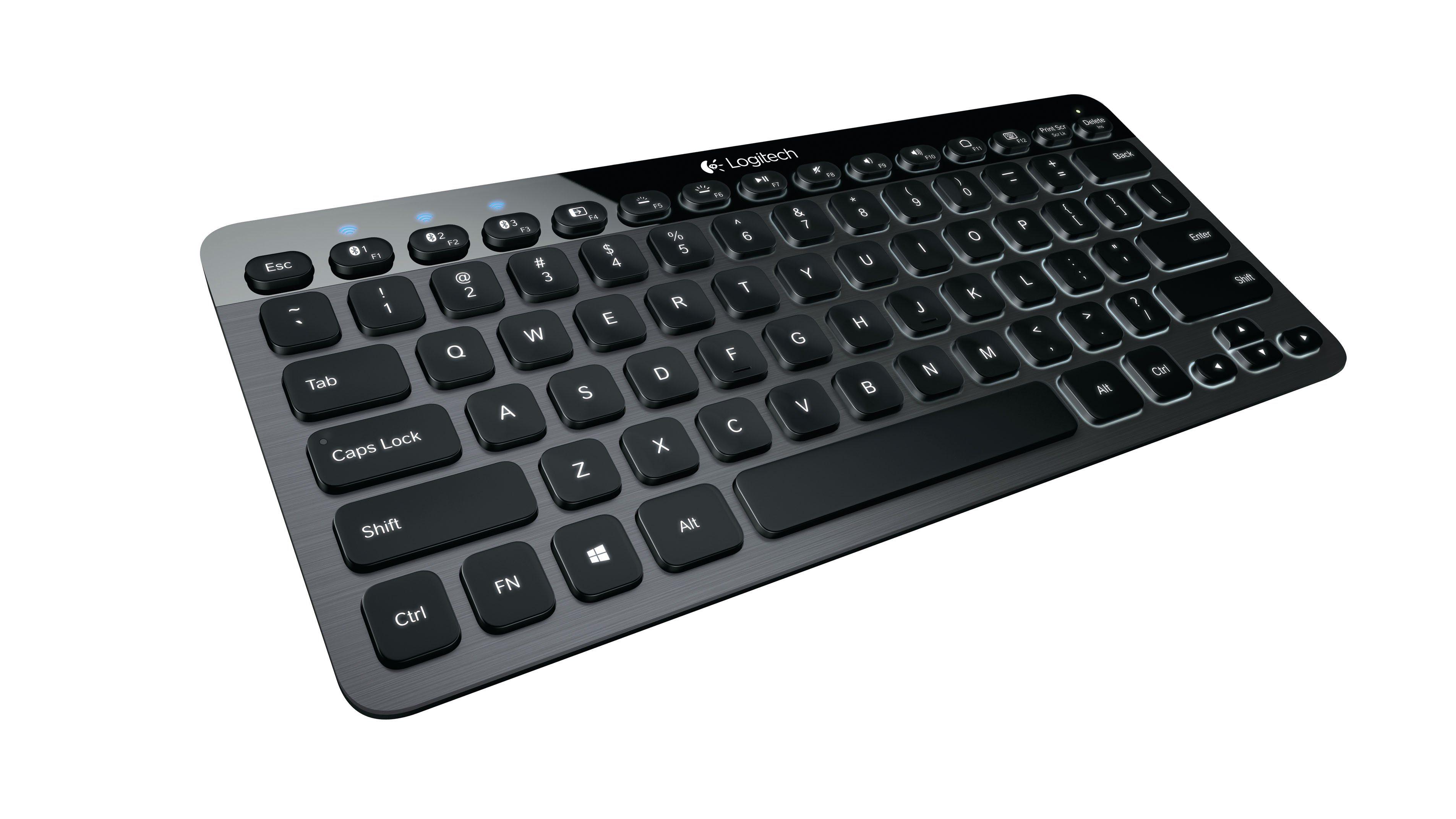 Logitech Tastatur »Bluetooth® Illuminated Keyboard K810«