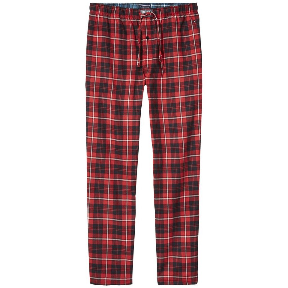 Tommy Hilfiger Homewear »Classic flannel pant check« in TANGO RED
