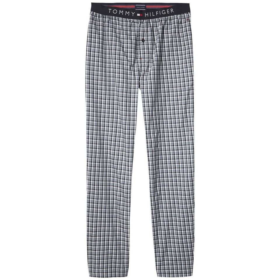Tommy Hilfiger Homewear »Flag woven pant check« in TAP SHOE