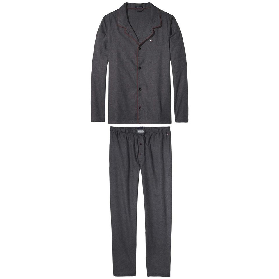 Tommy Hilfiger Pyjamas »Classic flannel set« in PHANTOM