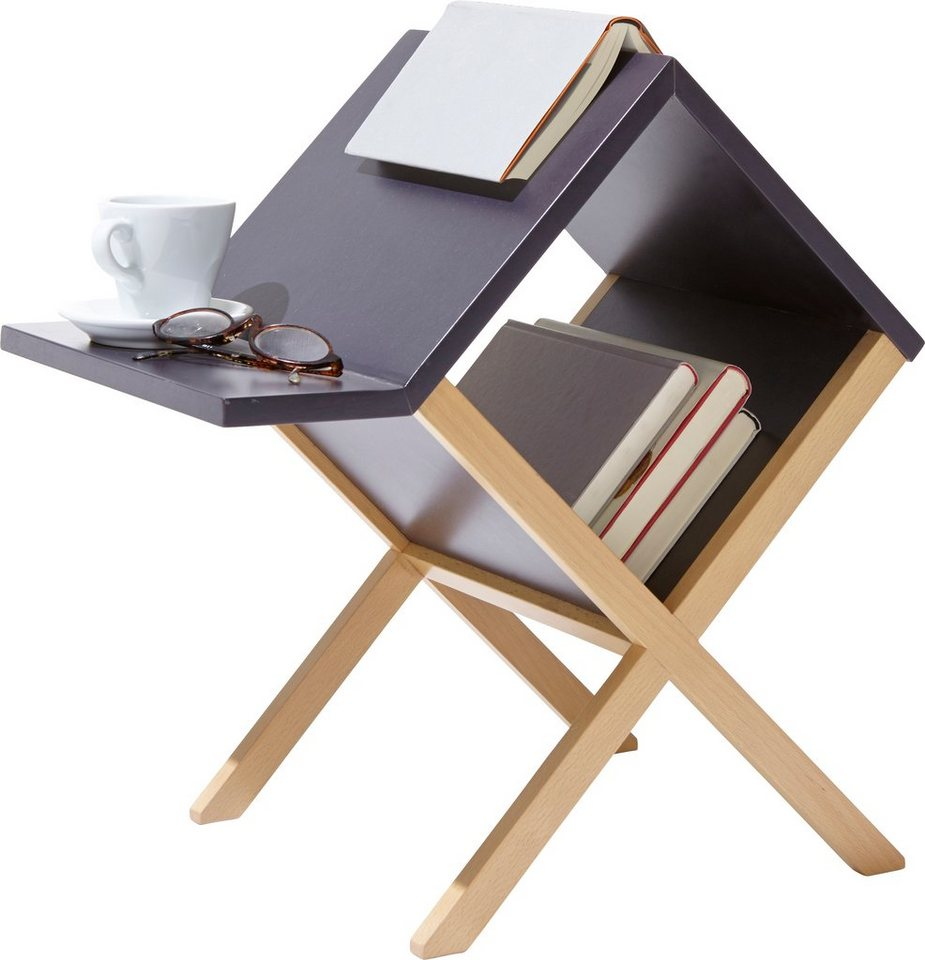 m ller m belwerkst tten couchtisch buchtisch ungew hnliches design mit funktion online kaufen. Black Bedroom Furniture Sets. Home Design Ideas