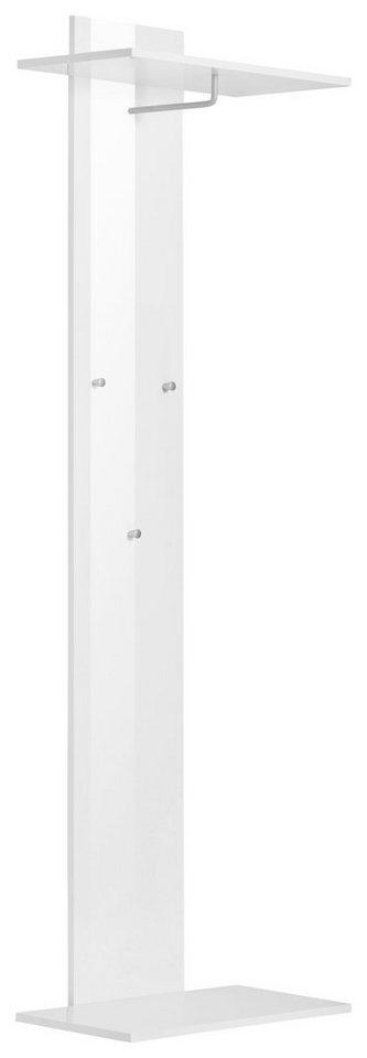 Wandpaneel »Calava« in weiß Hochglanz