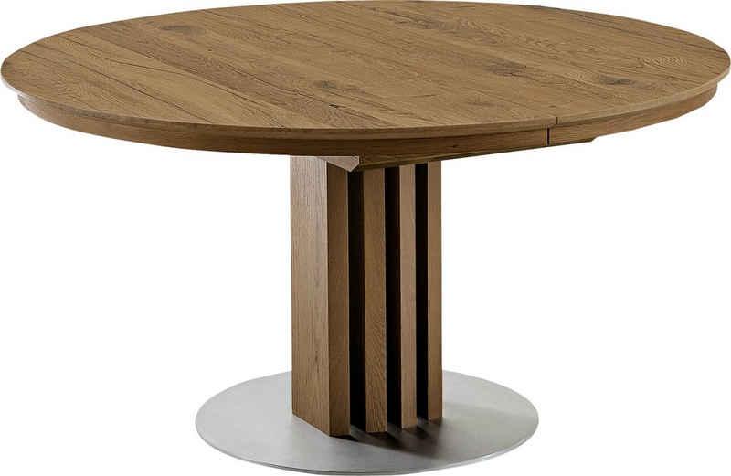 VENJAKOB Säulen-Esstisch »picasa«, runde Tischplatte, in 2 Größen