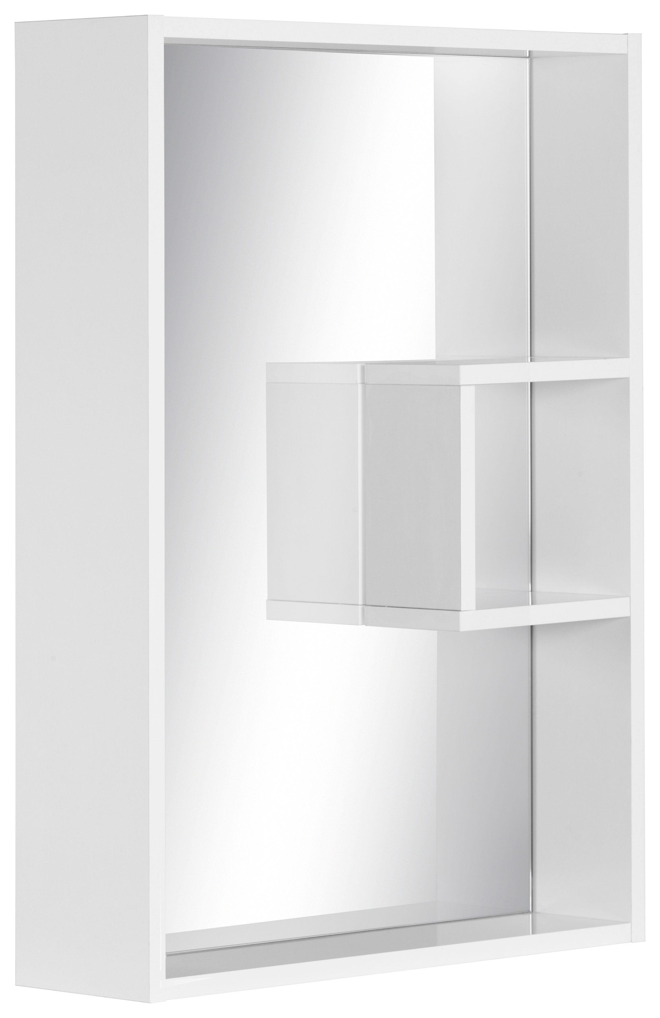 Schildmeyer Spiegelelement »Box«, mit Regal
