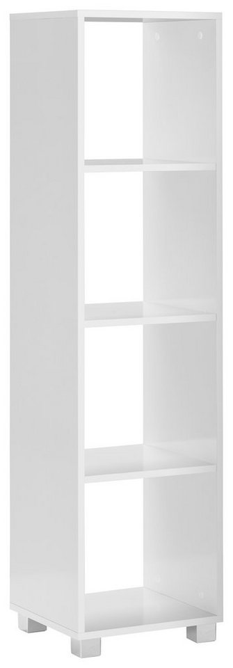Schildmeyer Regal »Box«, Höhe 143 cm in weiß-weiß