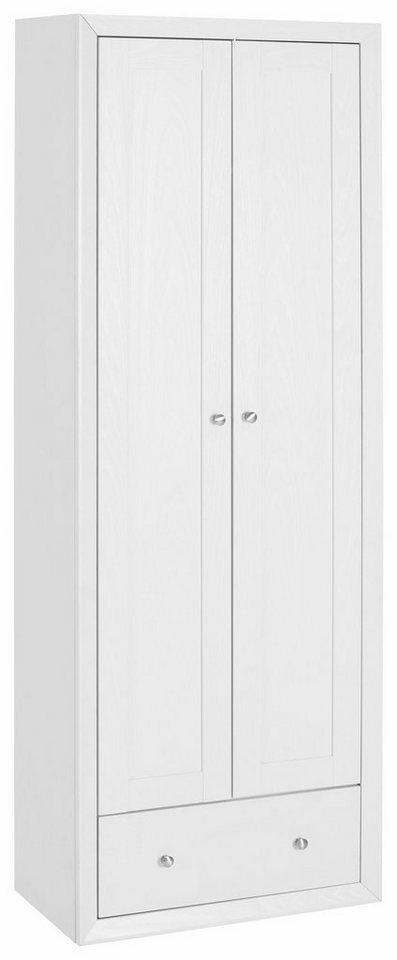 Garderobenschrank »Jalm« in weiß Struktur