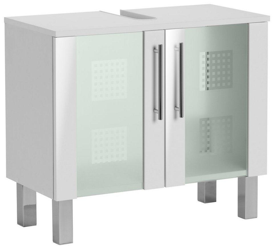 Kesper Waschbeckenunterschrank »Binz« in weiß-weiß