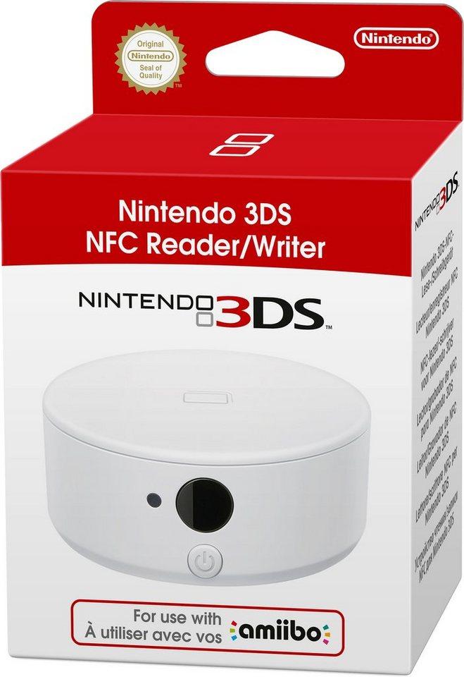 Nintendo 3DS Nintendo 3DS-NFC-Lese- und Schreibgerätes Fernbedienung in weiß