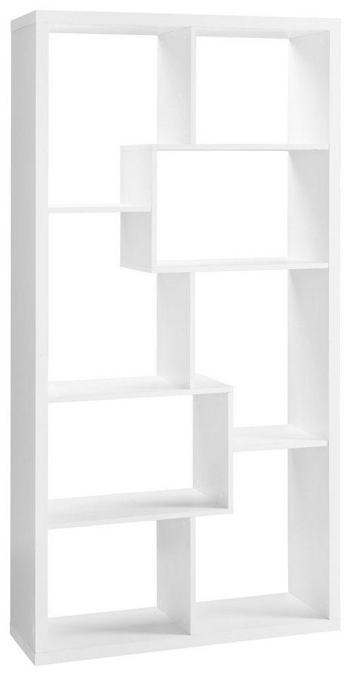 Regal »Reggi«, mit 8 Fächer in weiß