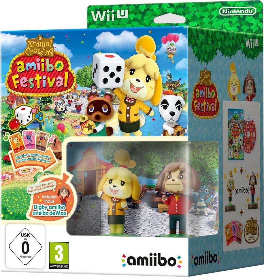 Animal Crossing: amiibo Festival + 2 amiibo-Figuren + 3 amiibo-Karten Nintendo Wii U