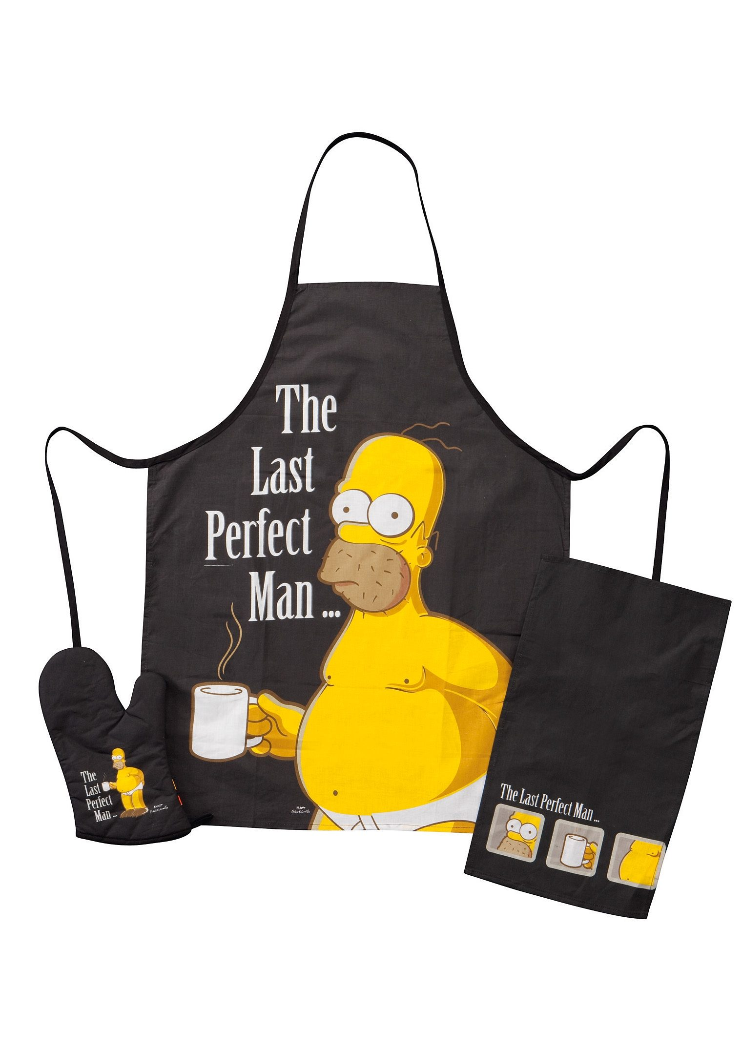 United Labels Grillset, »The Simpsons, The Last perfect Man« (3tlg.)