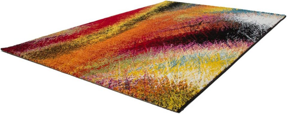 Teppich, Lalee, » Lima 300«, gewebt in multi