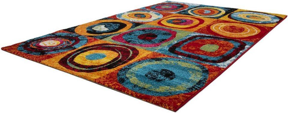 Teppich, Lalee, »Esprit307«, gewebt in Multi