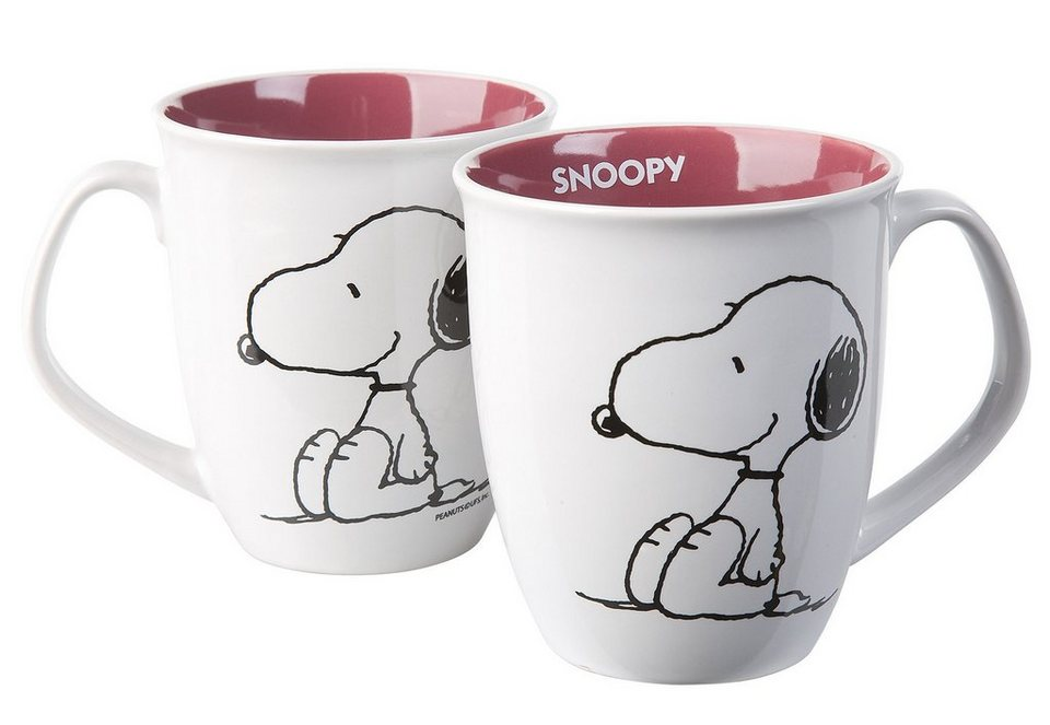 United Labels Tasse, »Cocoa Peanuts, Snoopy« (2tlg.)