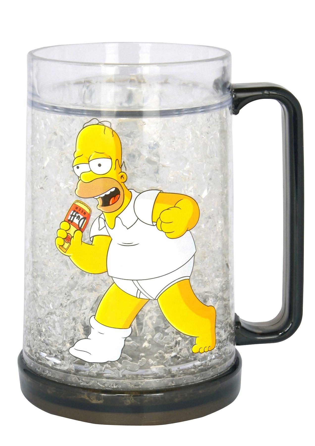 United Labels Bierkrug mit Kühlung, »The Simpsons, Homer«