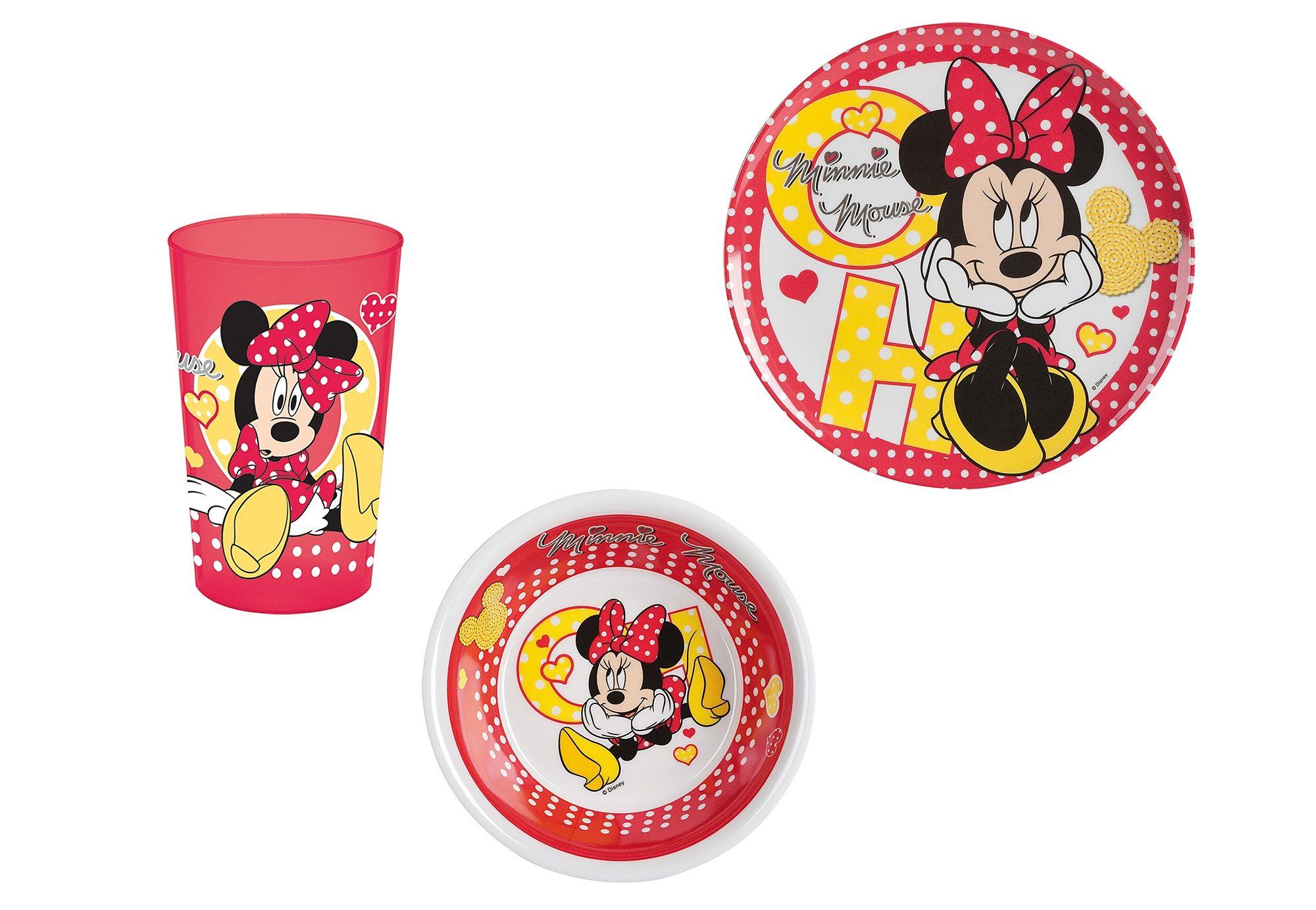 United Labels Frühstücksset , »Disney, Minnie Mouse« (3tlg.)