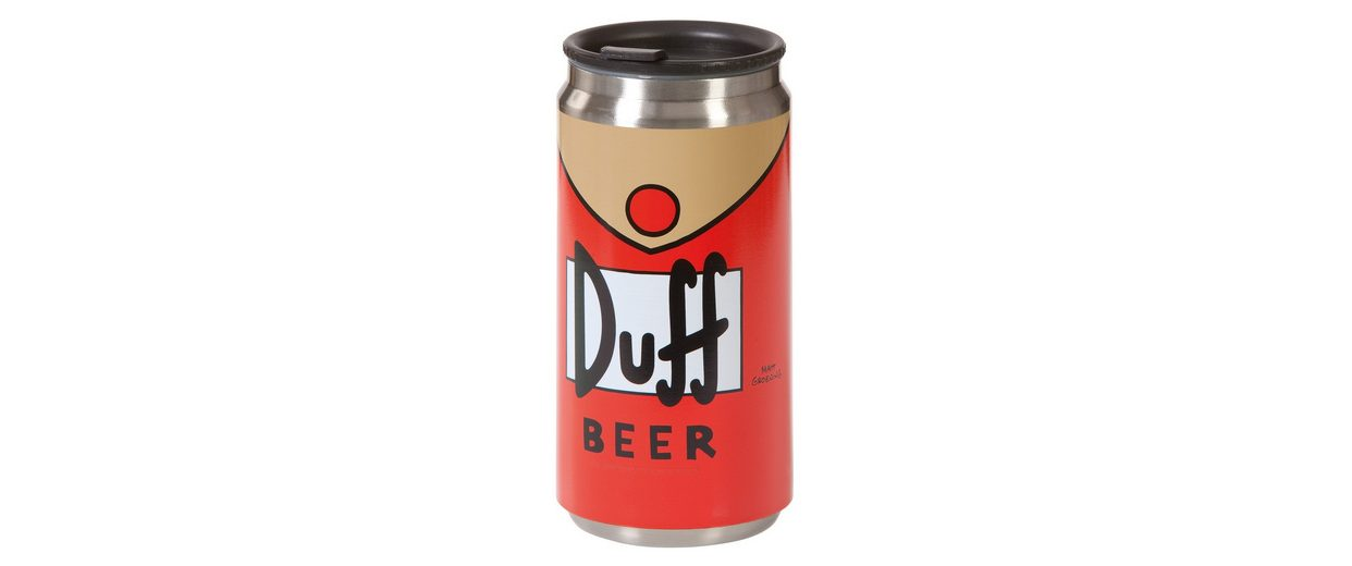 United Labels Thermo-Tasse, »The Simpsons, Duff-Beer«