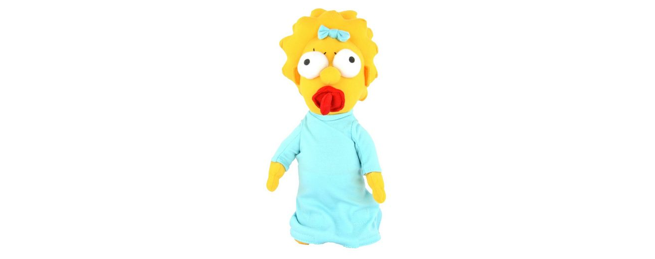United Labels Plüschpuppe, »The Simpsons - Maggie ca. 28 cm«