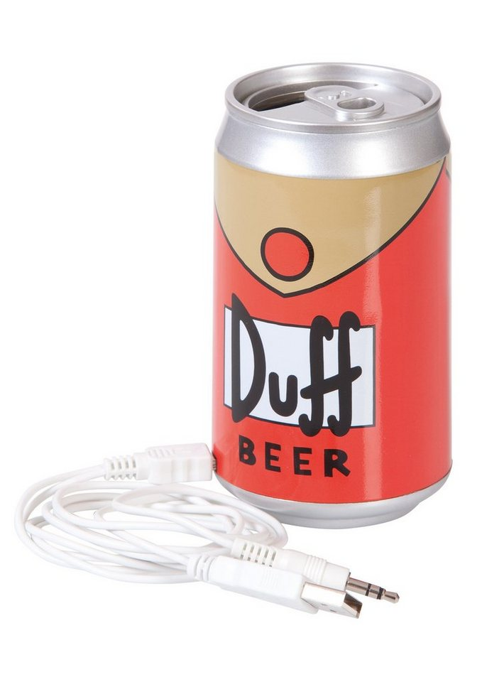 United Labels USB-Lautsprecher, »The Simpsons, Duff«
