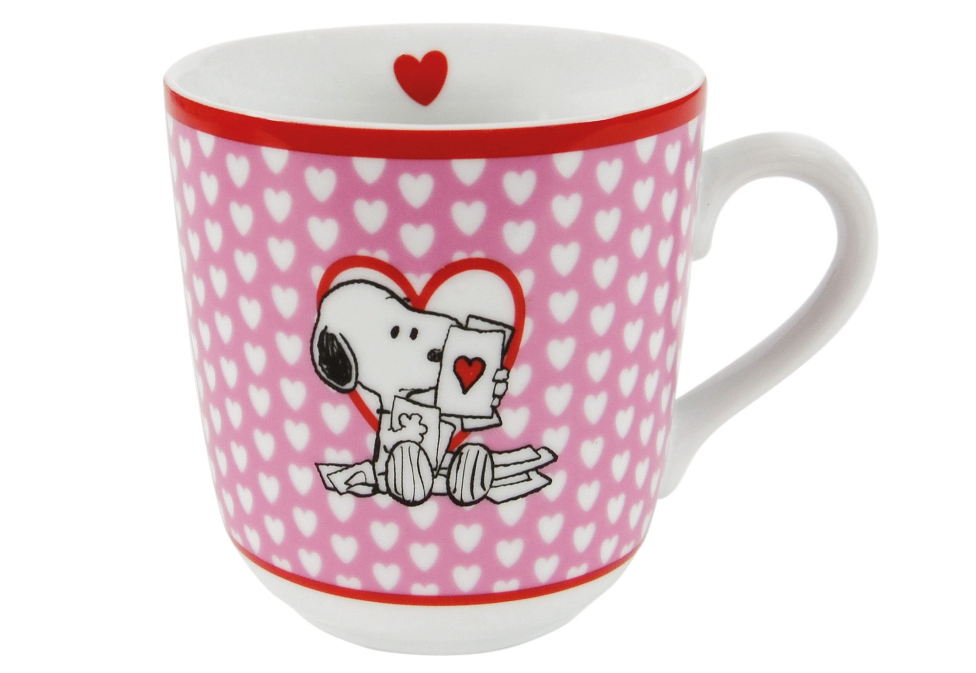 United Labels Tasse, »Peanuts, I love Snoopy«