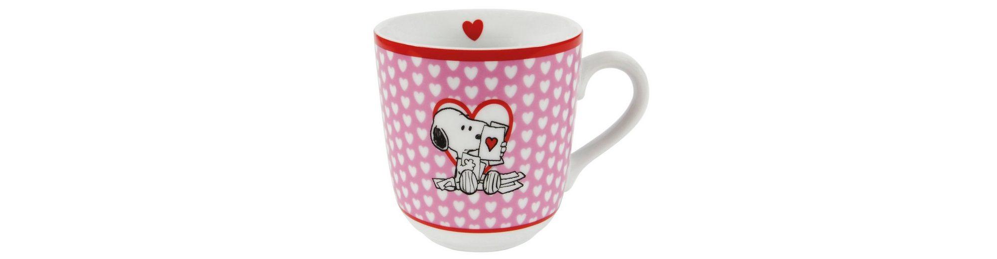 United Labels Tasse, »Peanuts, I love Snoopy«