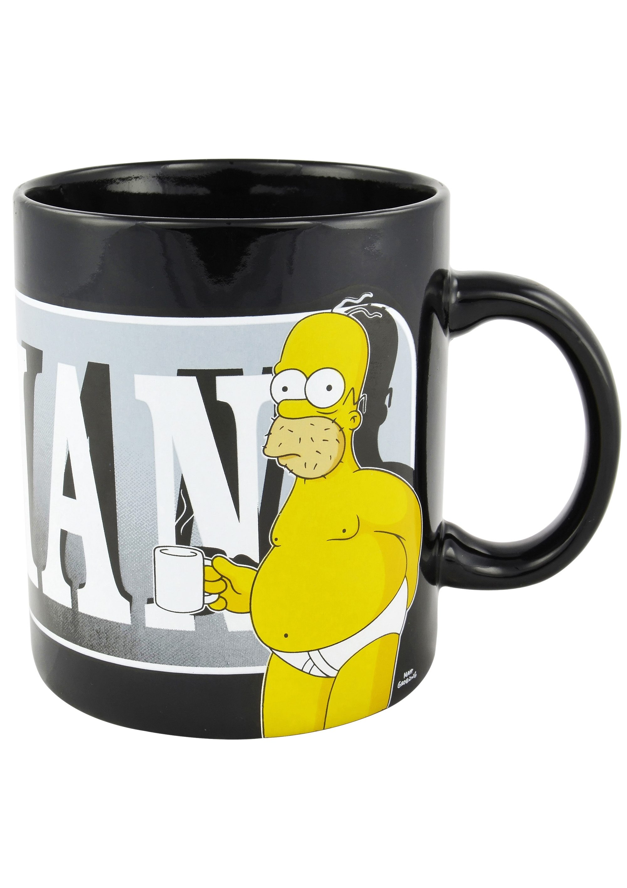 United Labels Mega-Tasse, »The Simpsons, The last perfect man«