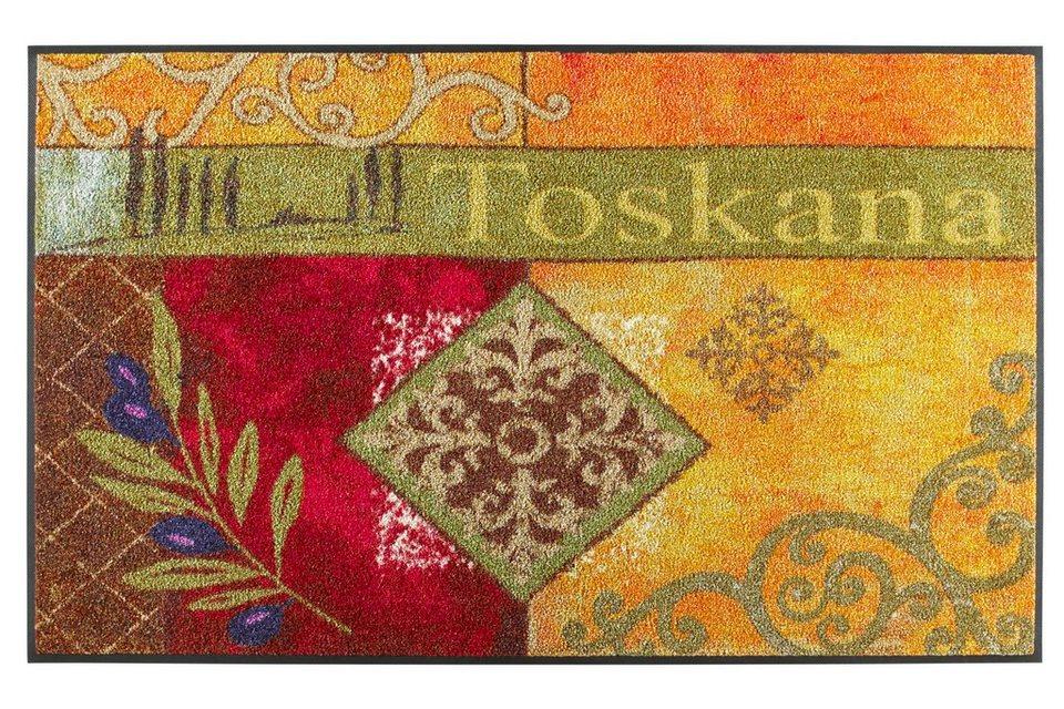 """Fußmatte """"Toskana Ornament"""" in bunt"""