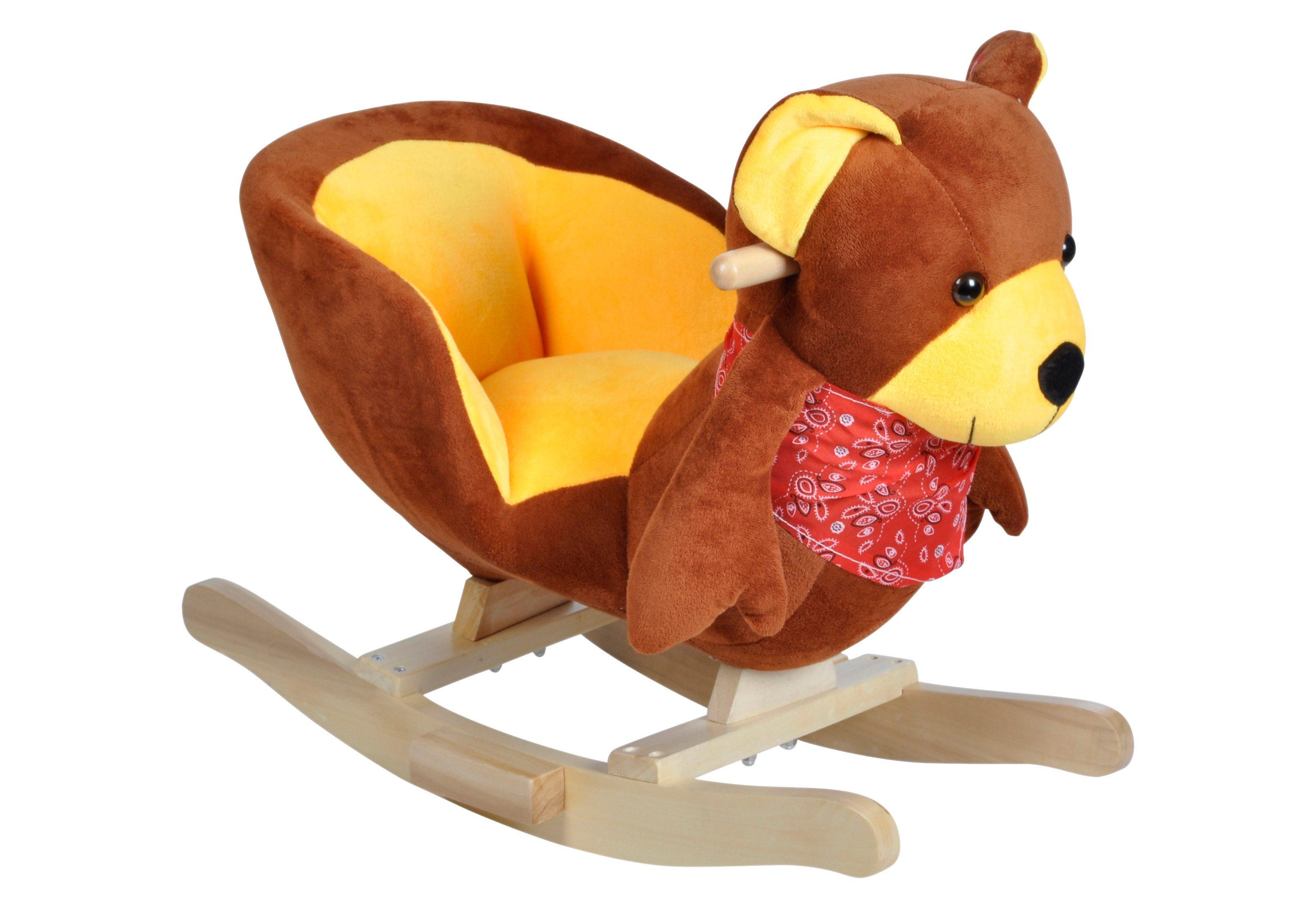 knorr toys Schaukeltier mit Sound, »Teddy Emil«