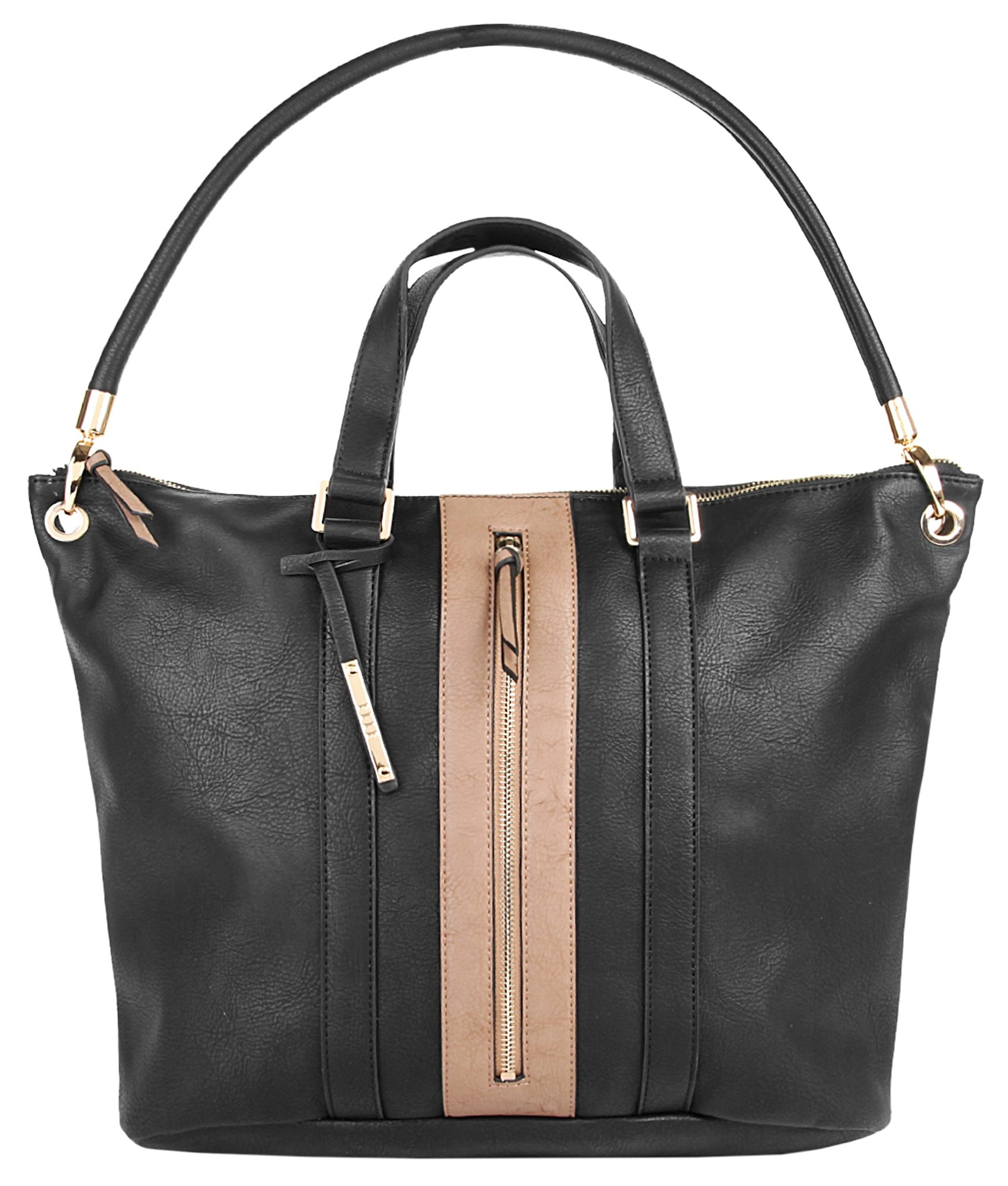 ELLE Damen Shopper »Straight Line«