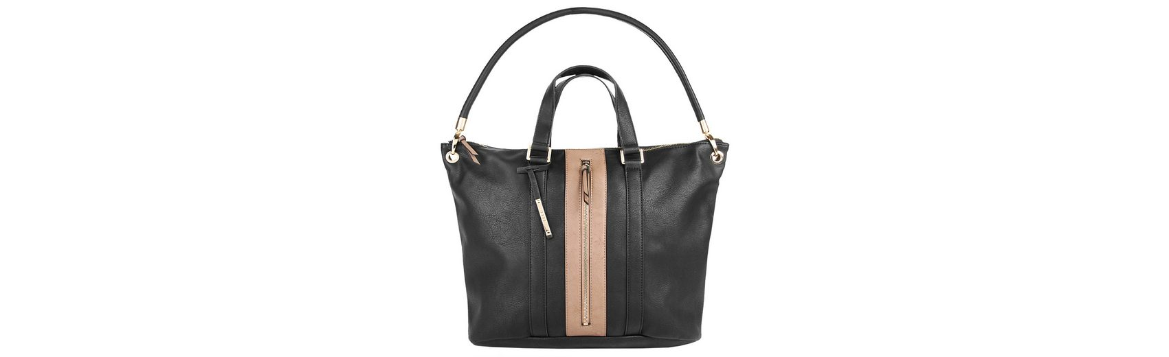 ELLE Damen Shopper »Straight Line«