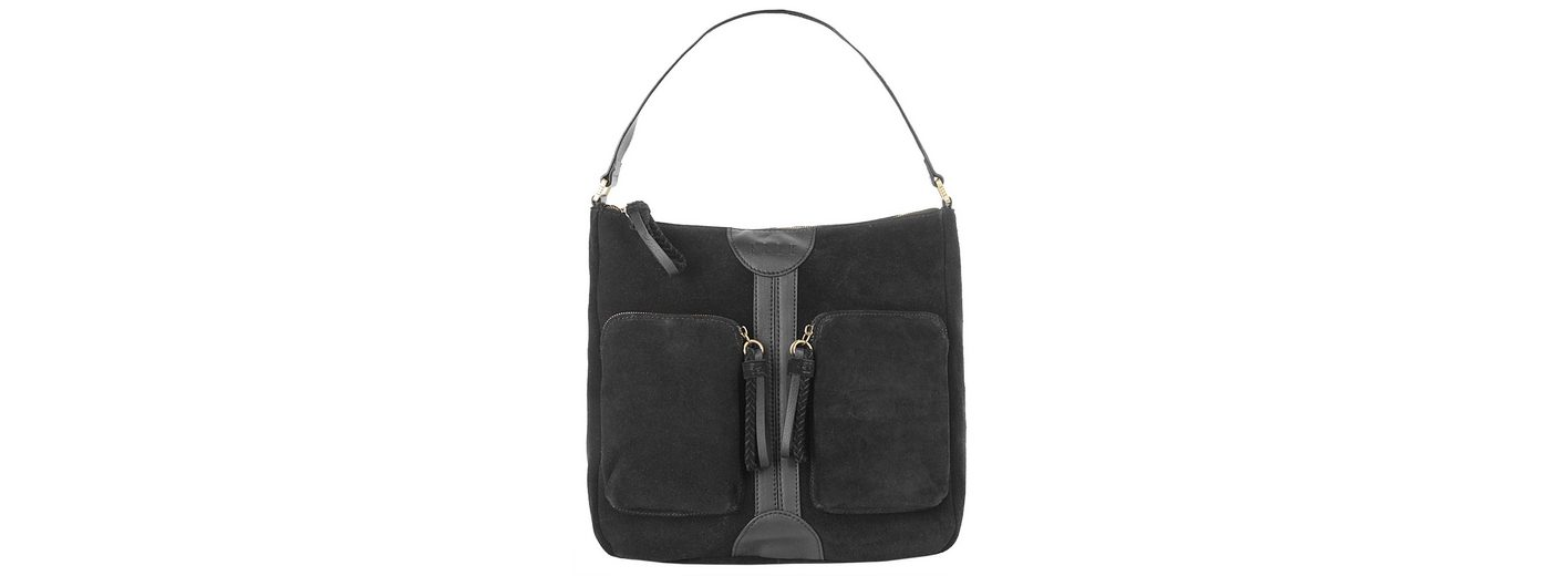 ELLE Leder Damen Handtasche »Be Cool«