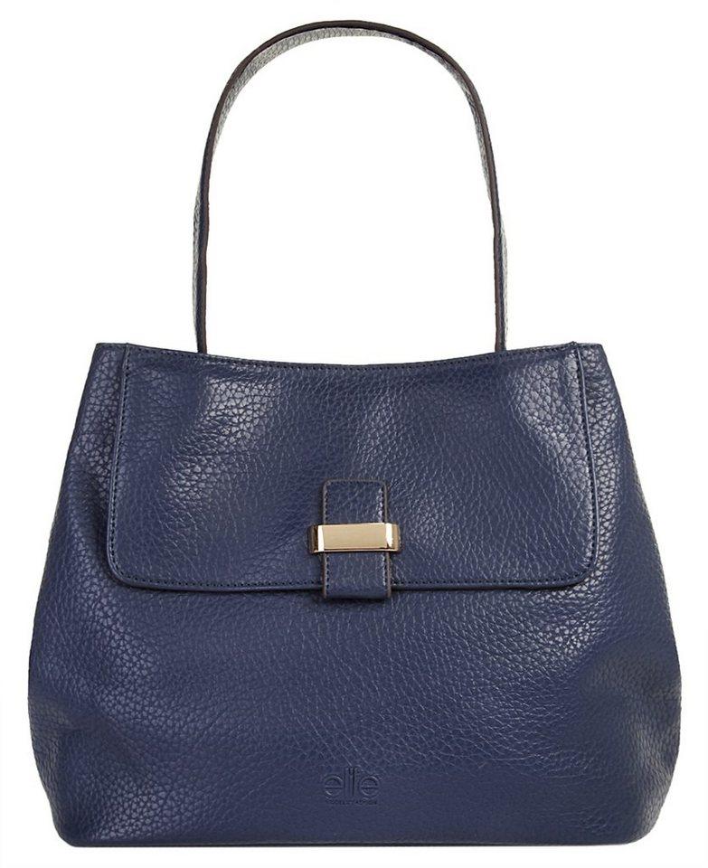 ELITE MODEN Damen Handtasche »Léane« in dunkelblau