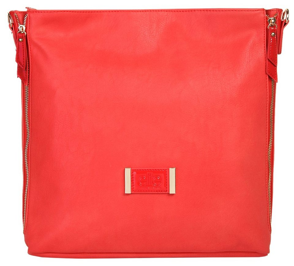 ELITE MODEN Damen Shopper »Kelly« in coral