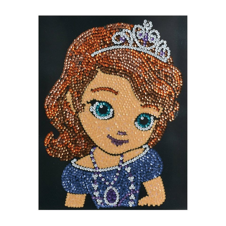 Simba Disney Sequin Fun Sofia