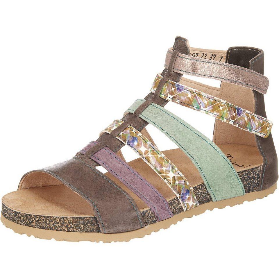 Think! Dufde Sandaletten in mehrfarbig