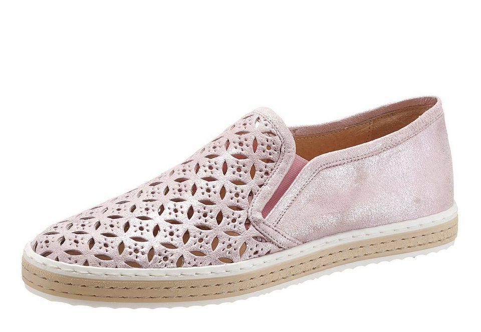 I´m walking Slipper in modischen Pastelltönen in rose