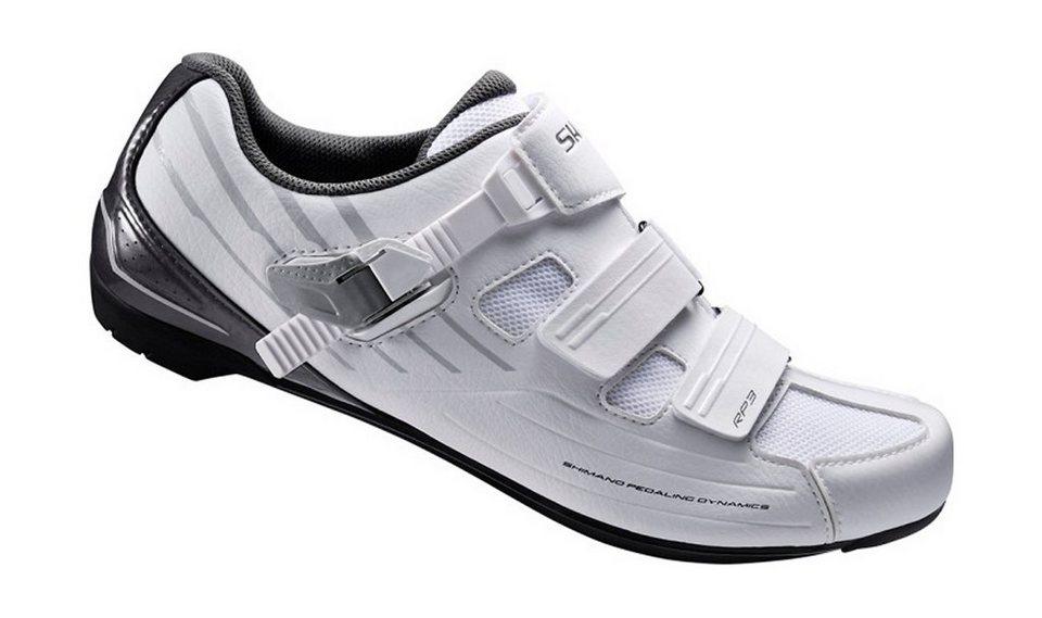 Shimano Fahrradschuhe »SH-RP3W Schuhe Unisex« in weiß