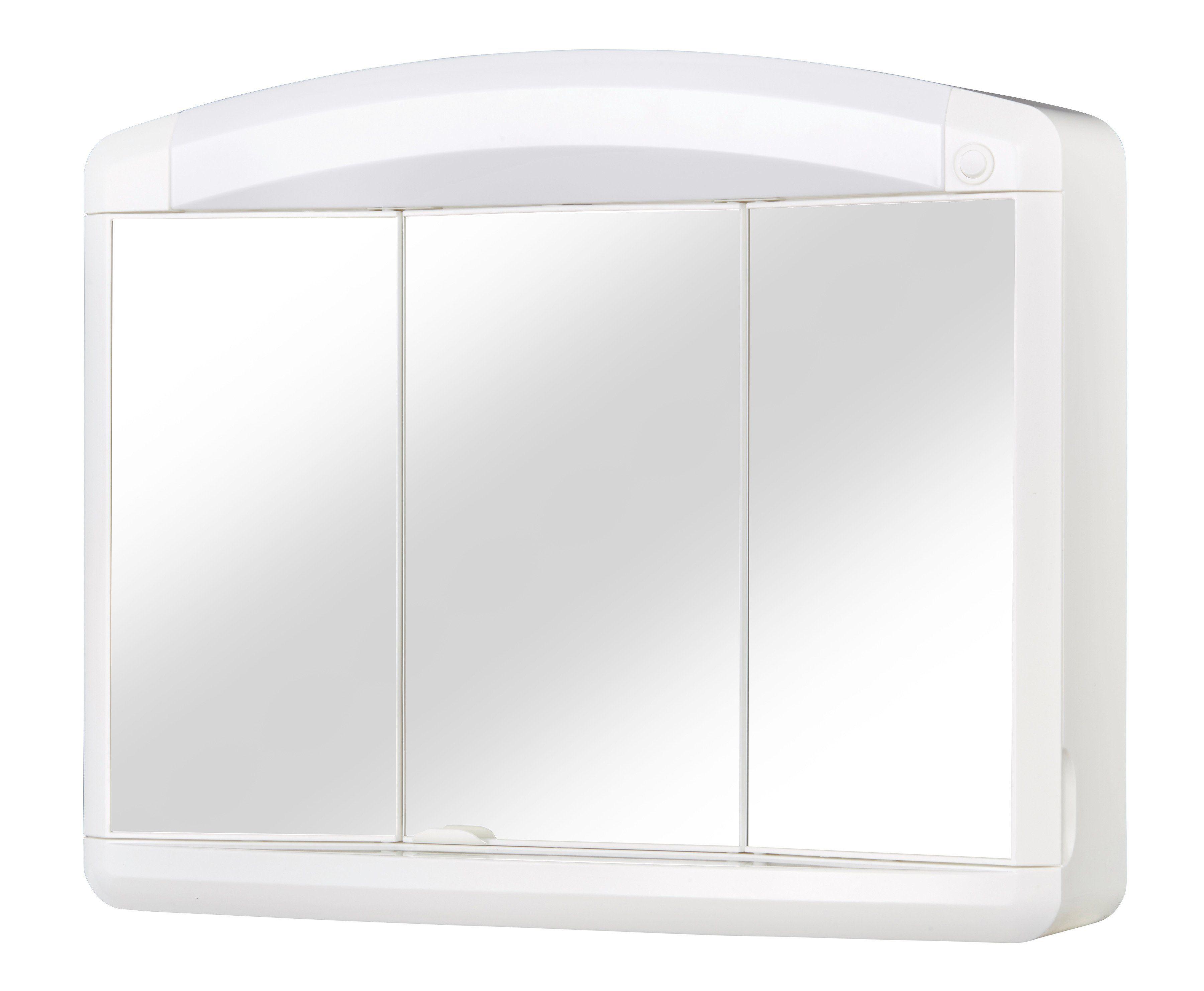 Spiegelschrank »Max« Breite 65 cm, mit Beleuchtung