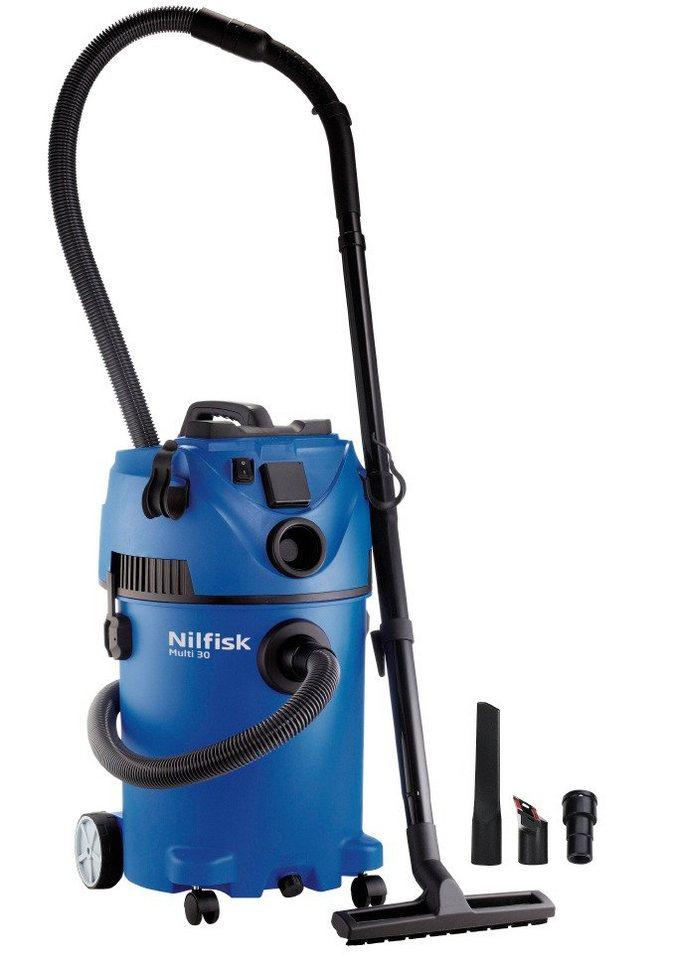 Nass-/Trockensauger »Multi 30 T« in blau