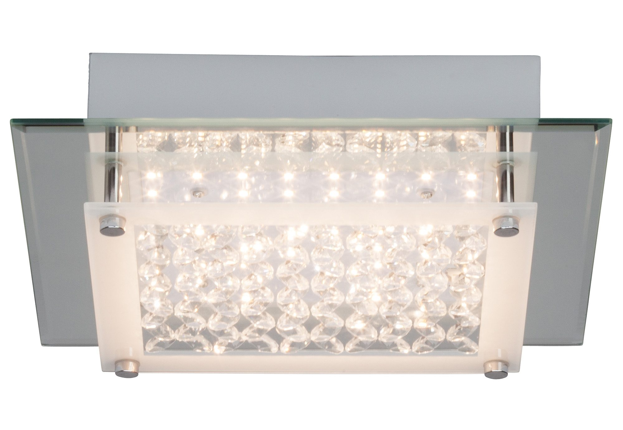 Brilliant Leuchten Wand- und Deckenleuchte, inkl. LED-Leuchtmittel, 1 flammig