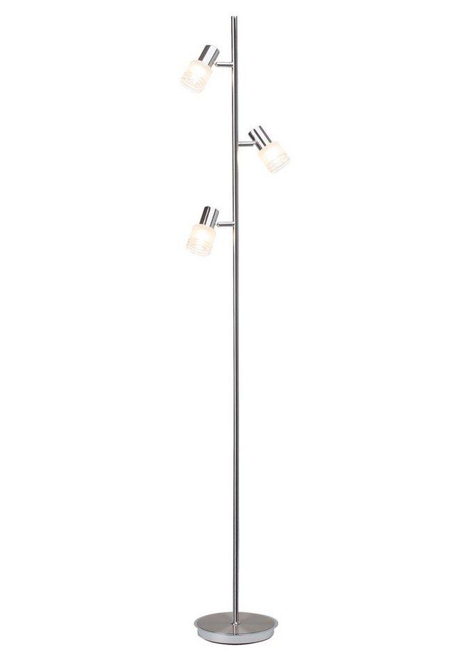 brilliant leuchten stehleuchte inkl led leuchtmittel 3 flammig online kaufen otto. Black Bedroom Furniture Sets. Home Design Ideas