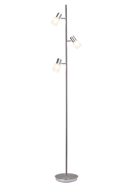 Brilliant Leuchten Stehleuchte, inkl. LED-Leuchtmittel, 3 flammig