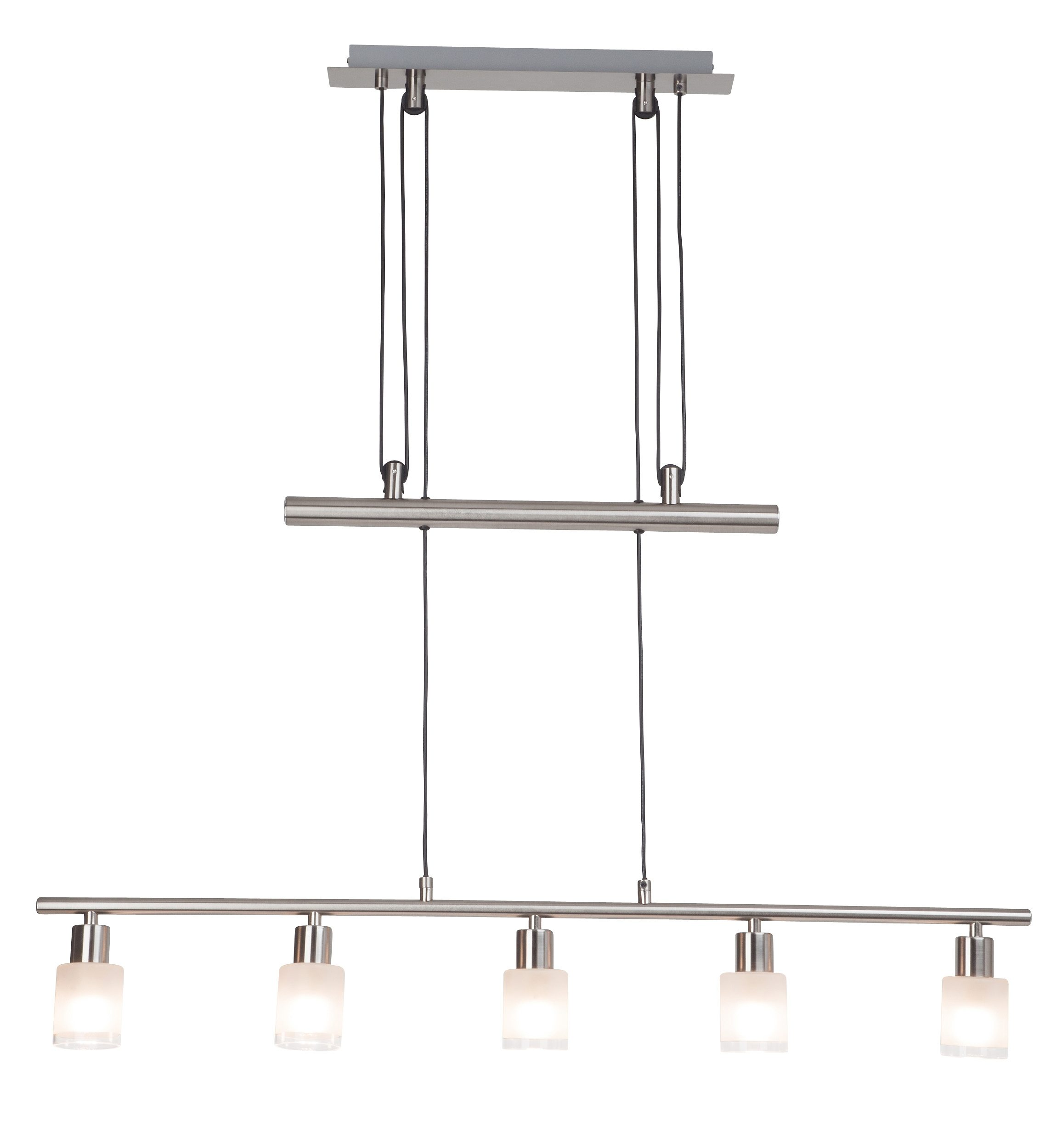 Brilliant Leuchten Pendelleuchte, inkl. LED-Leuchtmittel, 5 flammig
