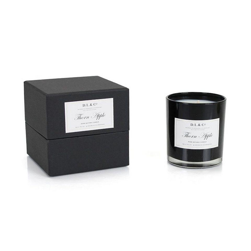 DL&Co DL&Co Duftkerze im Glas - Stechapfel in schwarz, weiß