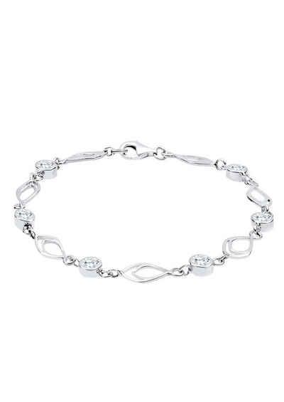 Elli Silberarmband »0210511113« mit Swarovski® Kristallen fe293ffe29