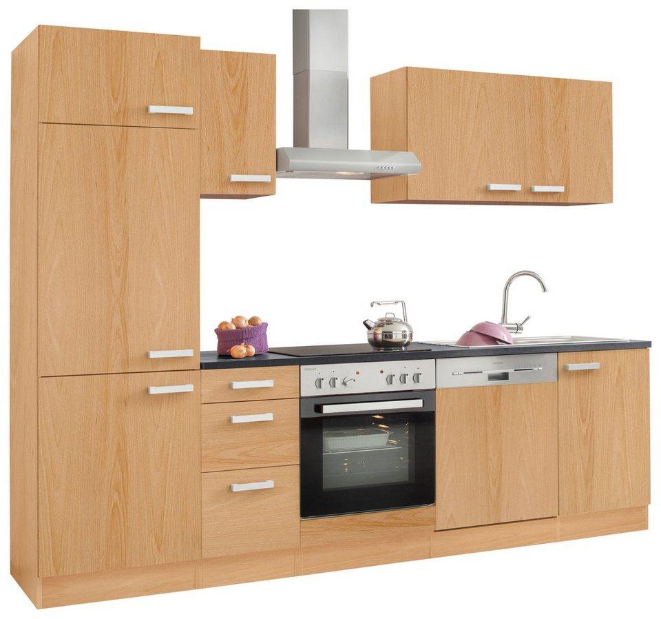 Küchenzeile mit E-Geräten, OPTIFIT, »Odense«, Breite 270 cm online ...